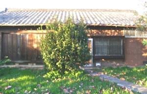 黙骨木板張り瓦葺平屋住宅(居住なし) 建物の広さ:70.5㎡(21.36坪)