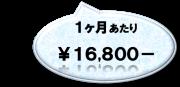 約¥16,800