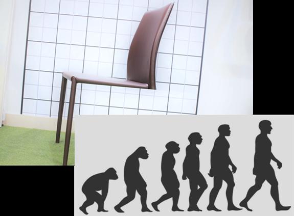 イスと人類の進化