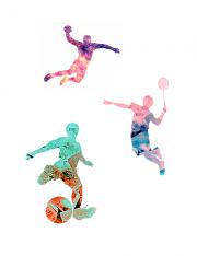 スポーツのイメージイラストです