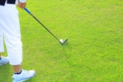 ゴルフをプレーする人