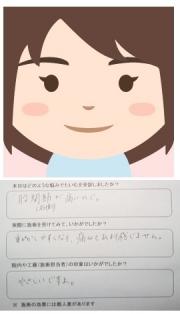 ユキさんの似顔絵イラストとアンケートです