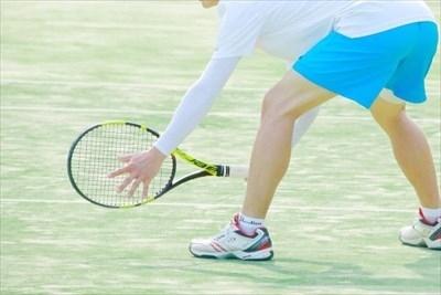 テニスの姿勢