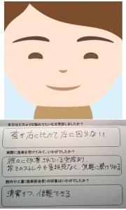 Onisakiさんの似顔絵イラストとアンケートです