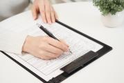 同意書と申請書:医師の同意書(指示書)のもと、体の各部位を施術します。